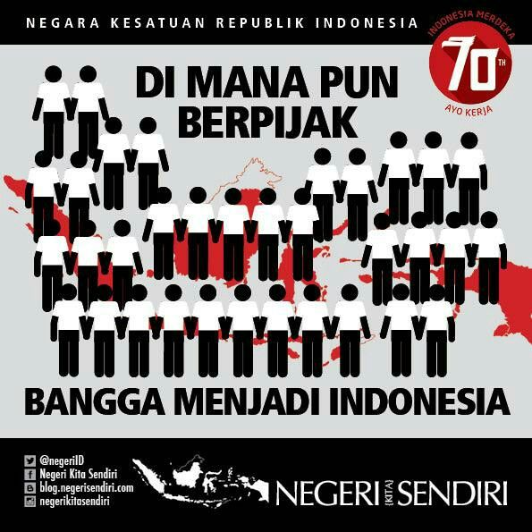 Proud to be Indonesian