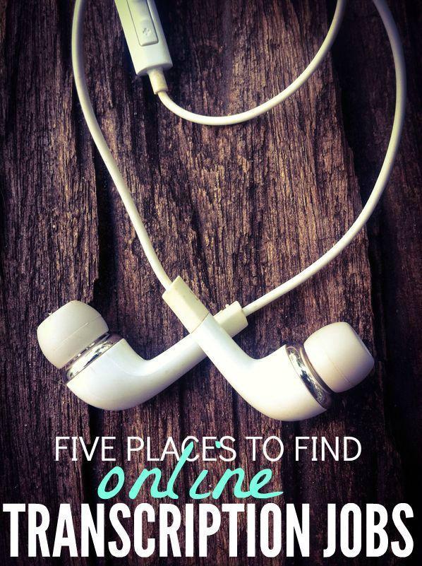 Five Places To Find Online Transcription Jobs