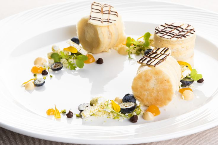 Esterhazy Walnut Cake from the Stradivari Restaurant