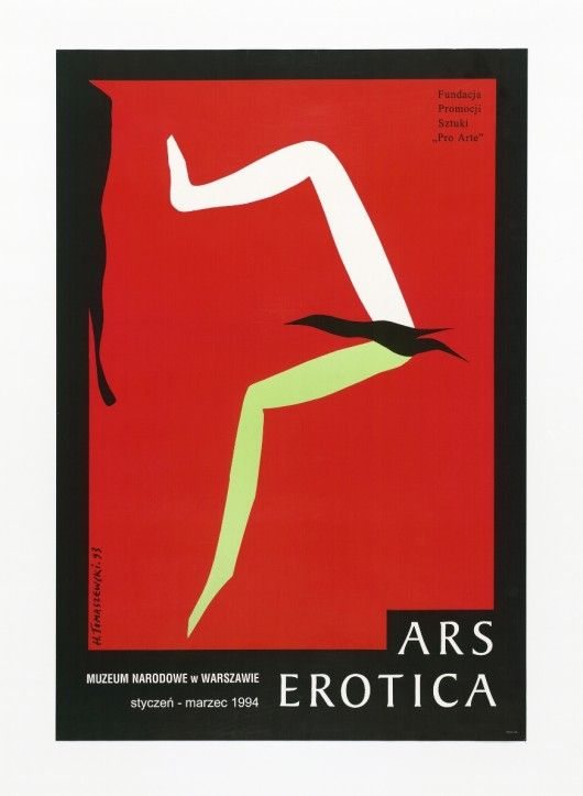 Poster Plakat Henryk Tomaszewski - Ars Erotica