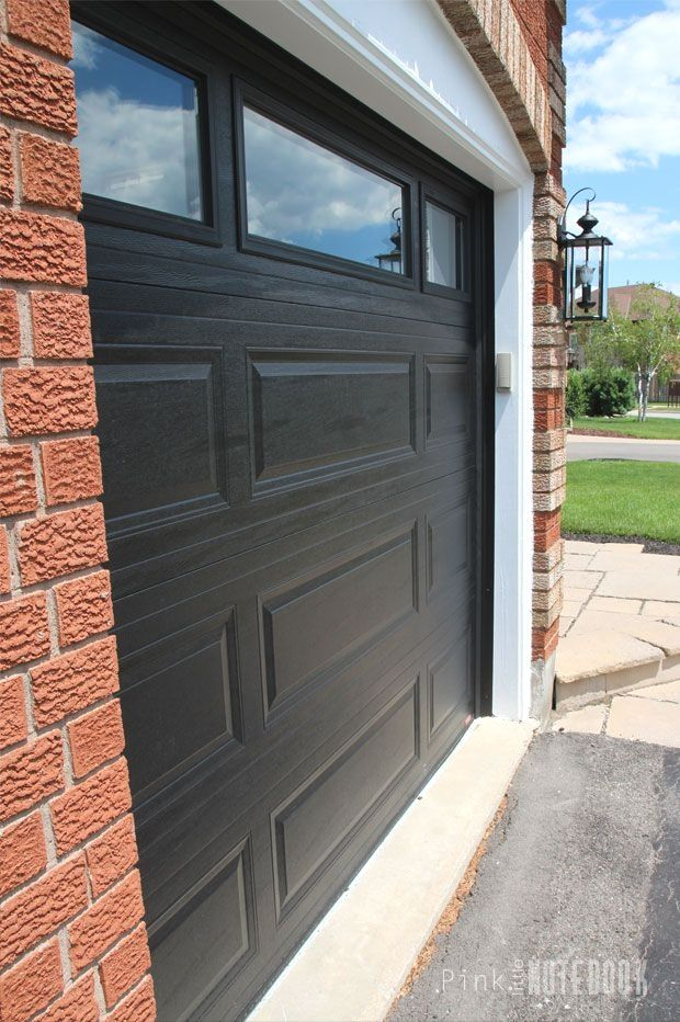 Garage Door Ideas Nz And Pics Of Garage Doors Canada Garage Garageorganization Garagedoors Red Brick House Brick Exterior House Garage Doors