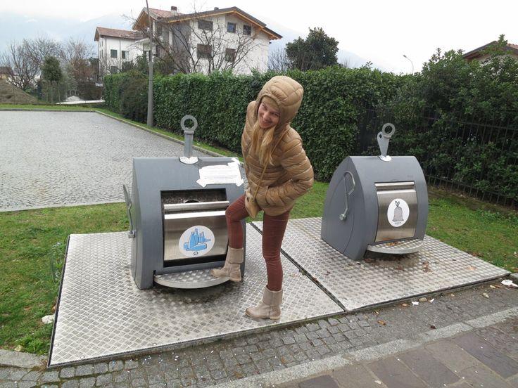 мусорные педальные баки. Италия Контейнеры для раздельного сбора – 104 фотографии