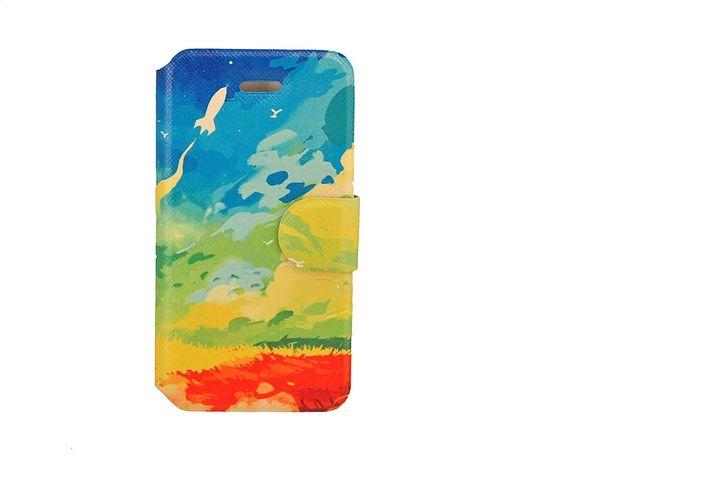 Rocket. Ljuvligt, vackert och inspirerande plånboksfodral till iPhone 4
