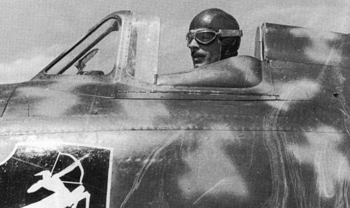 Italian fighter pilot