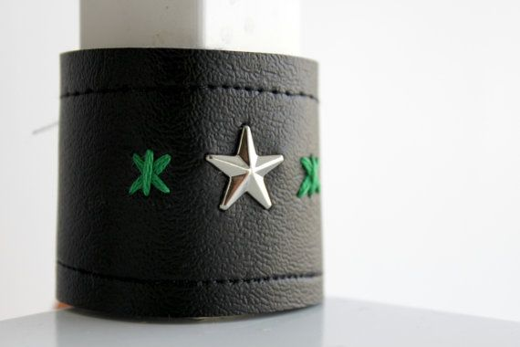 Toddler Cuff, Faux Leather, Rock His Style by BrokBoys, $12.50