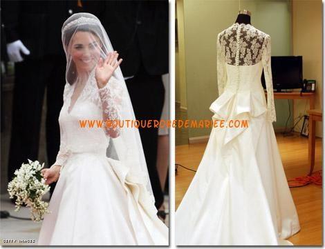 2eme Robe De Mariee De Kate Middleton Modèles Populaires