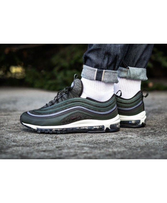air max 97 black green white