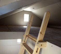 17 best ideas about loft ladders on pinterest cabin loft Garage loft stairs