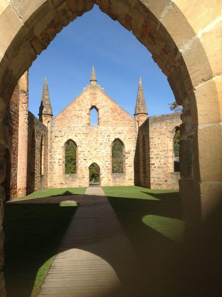 The Church at Port Arthur - Tasmania - Australia
