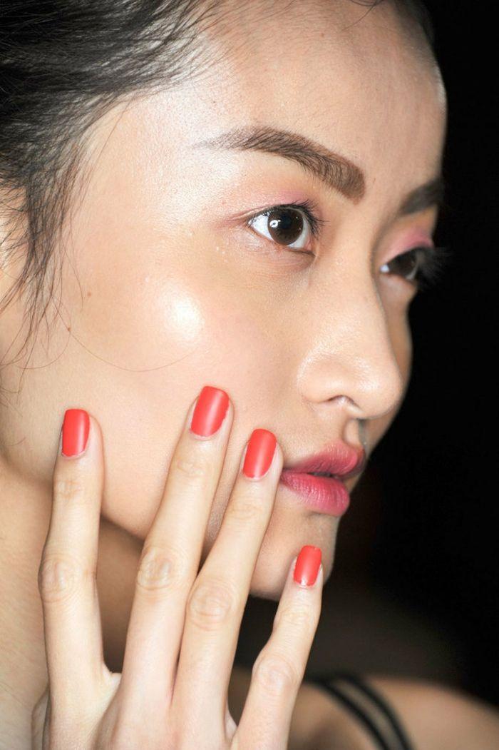 Nagellackfarbe Rot Fingernägel Trends