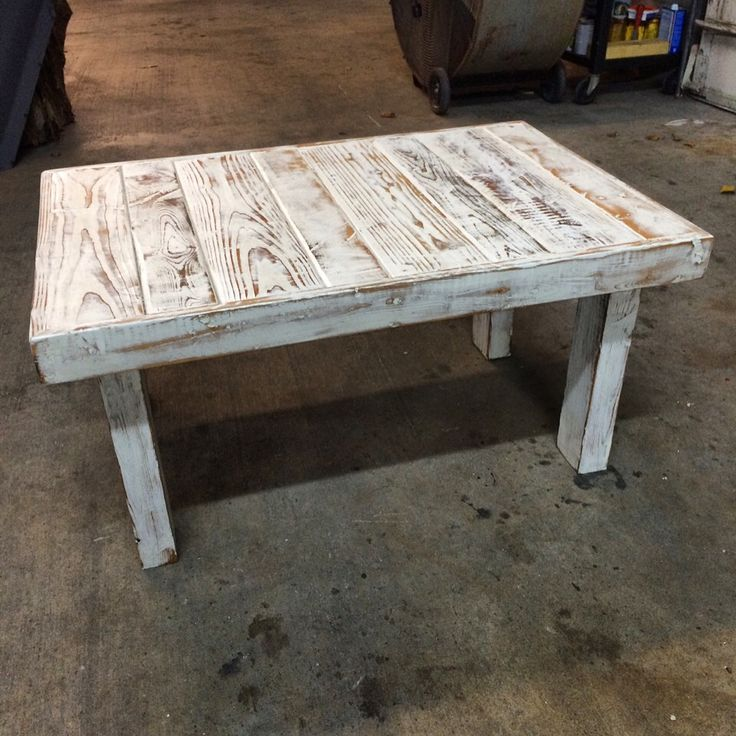 Custom coffee table being made by my talented friend Eric Farrae! Almost done!