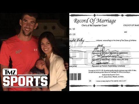 Michael Phelps is Secretly Married