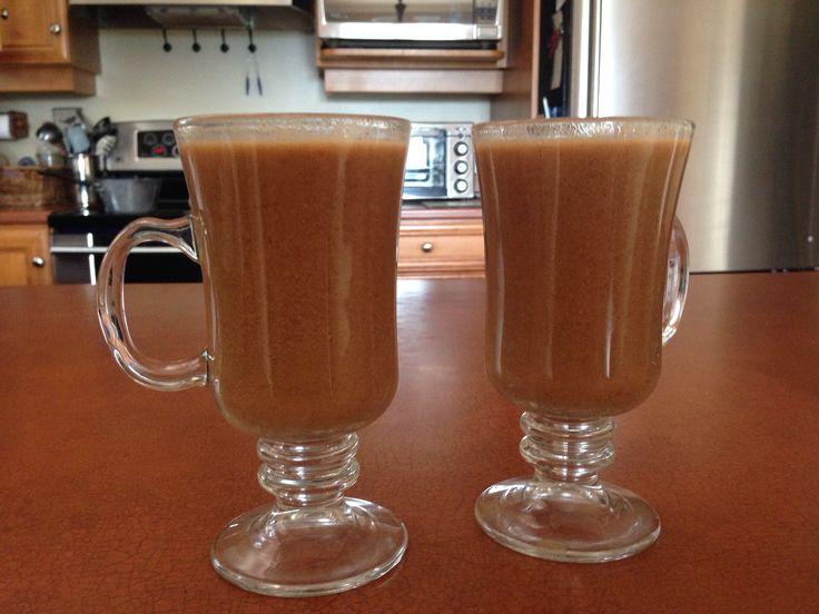Homemade pumpkin spice lattes! <3