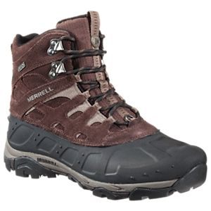 Merrell Moab Polar Waterproof Pac Boots for Men - Espresso - 11.5M