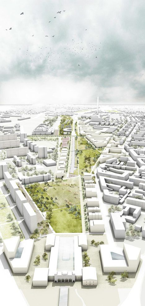 Stadtraum Bayerischer Bahnhof by LOIDL Landscape Architects