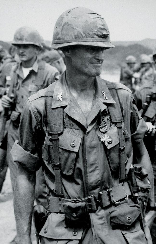 Col. Hal Moore, Vietnam.