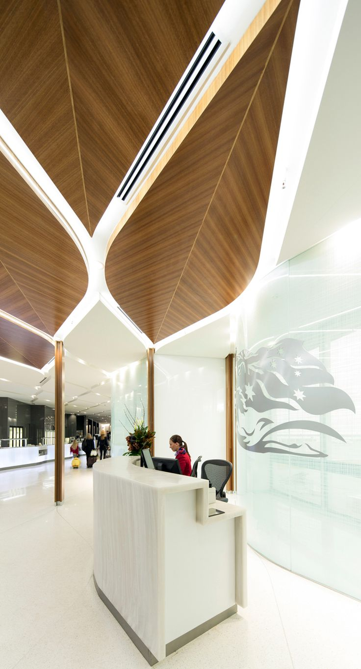 Virgin Lounge Melbourne :: Tonkin Zulaikha Greer Architects