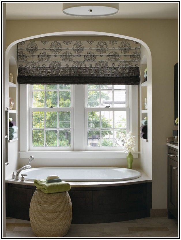 Window Treatments For Bathrooms Privacy