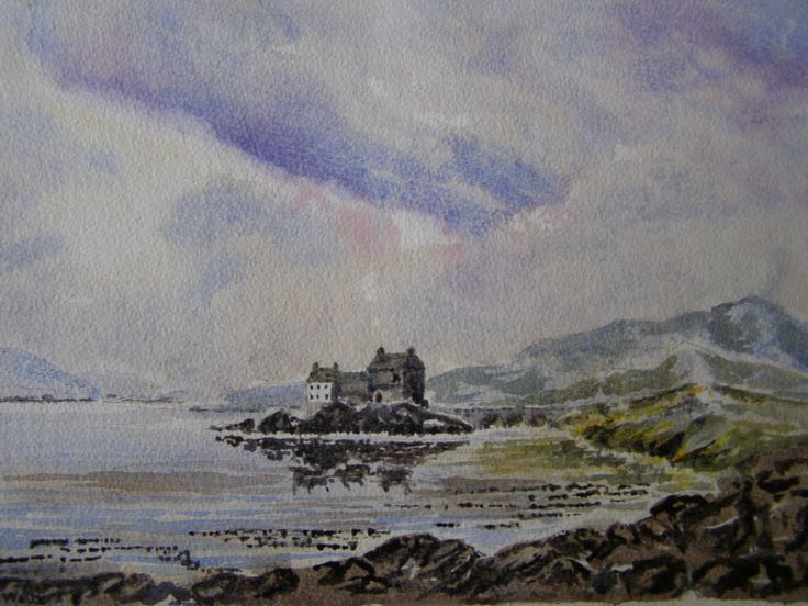 Water Colour 16 x 12 by Colin walters