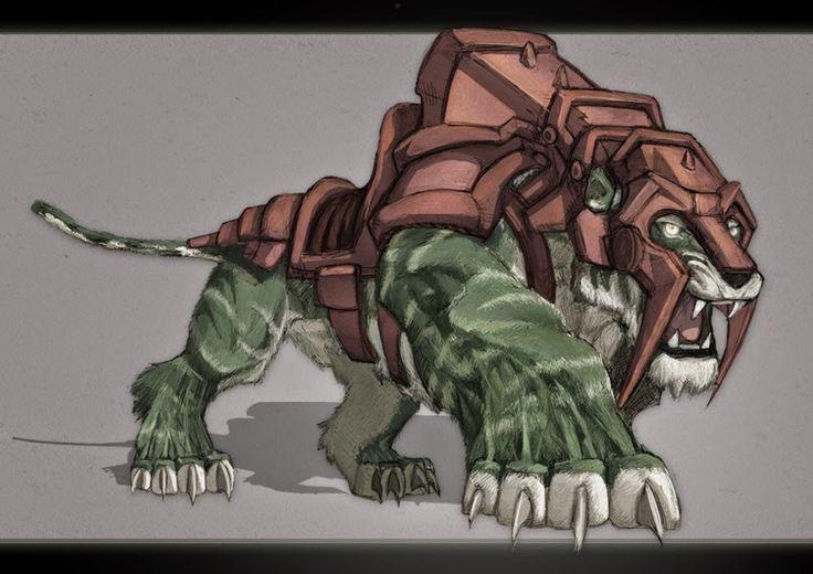 Confraria de Arton: Arquivo de Fichas - Mutantes e Malfeitores: He-Man e Gato Guerreiro