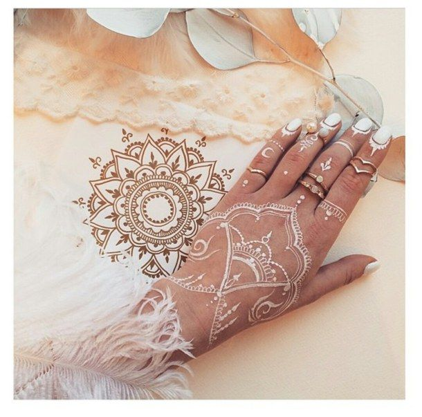 29 Best Wedding Body Paint Henna Images On Pinterest: 34 Best White Henna Tattoo Images On Pinterest