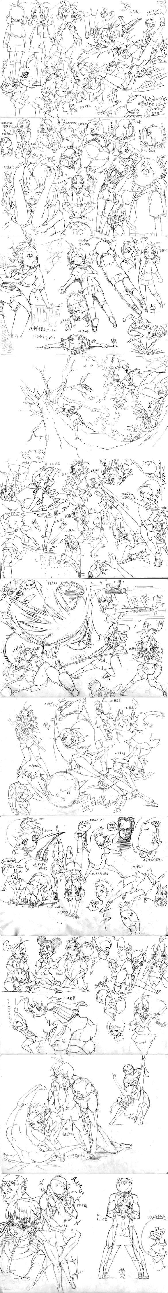 OMG random sketches that I found, beautiful.