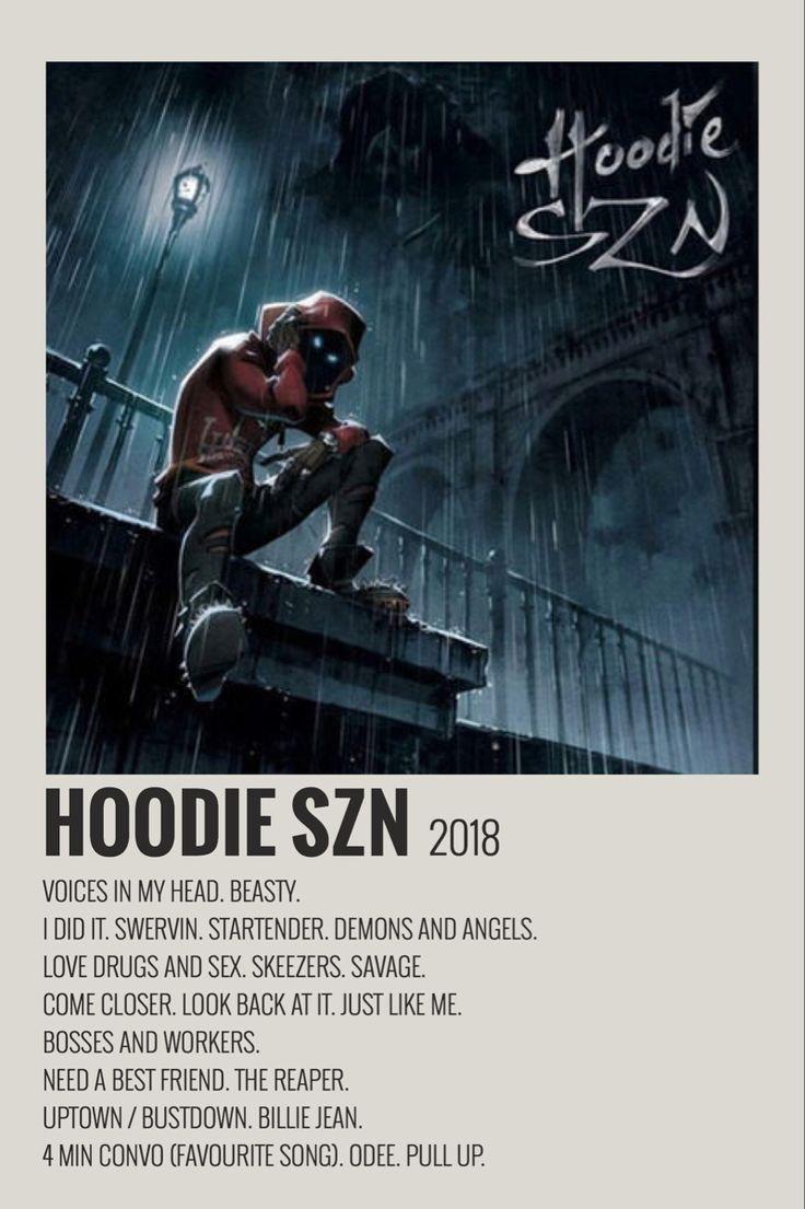Hoodie szn by maja minimalist music music poster ideas