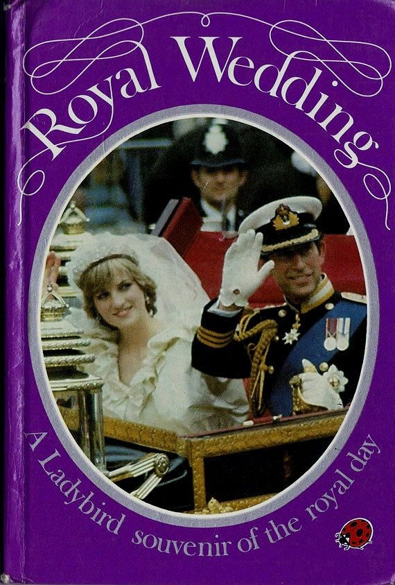 Royal Wedding Ladybird Books by RetroBooksUK on Etsy, £3.00
