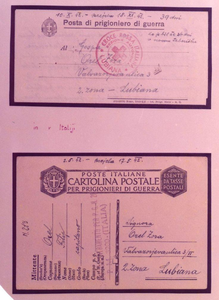 Mostra documentaria-filatelica, Genova, 1975. Cartoline per prigionieri di guerra.