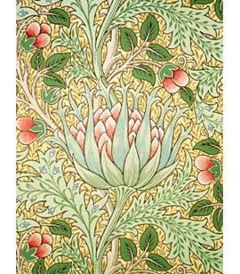 Would love either wallpaper or curtains made from this beautiful pattern by Williams Morris. Yummmy