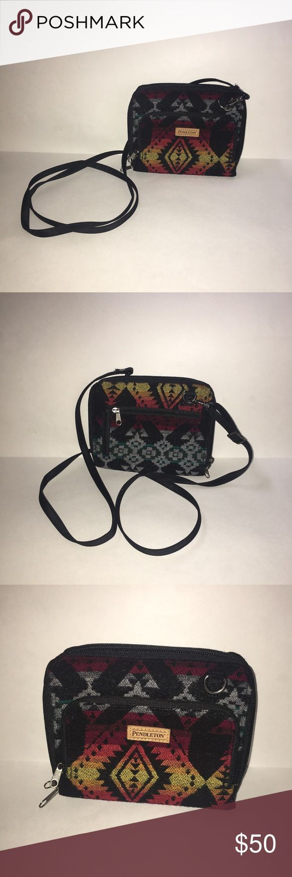 Pendleton Wallet Crossbody Bag Pendleton Wallet Crossbody Bag for sale.   Good condition.   Awesome design.   Perfect everyday bag.   Great for travel! Pendleton Bags Crossbody Bags