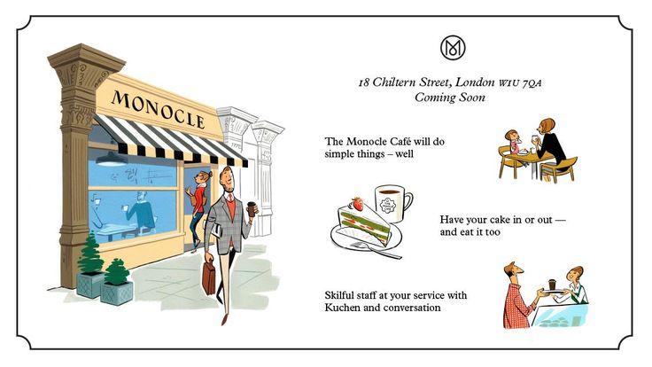 Monocle Café, London.