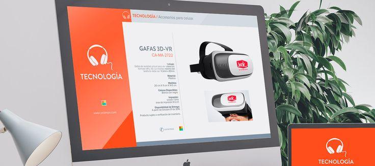 Catálogo Tecnología. Promocionales Proimpo.