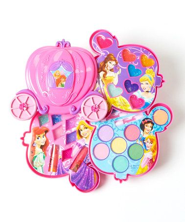 Look what I found on #zulily! Disney Princess Make-Up Carriage Kit #zulilyfinds
