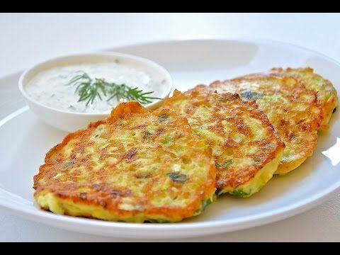 Как Вкусно Пожарить Кабачки + Соус   Fried Zucchini + Souсe, English Subtitles - YouTube