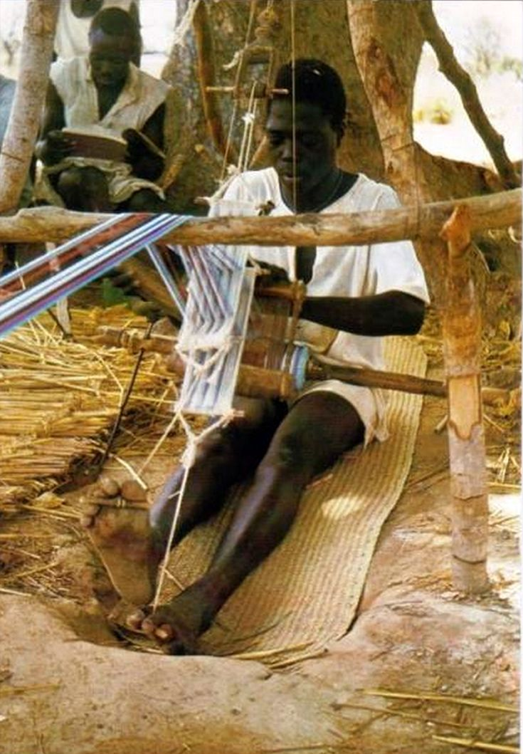 "Africa | ""The weaver"". Republic of Upper Volta (now Burkina Faso). Dated 1974 
