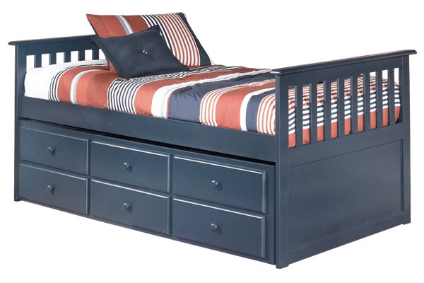 135 best images about kids rooms and other cool stuff on for Boys twin bed with storage