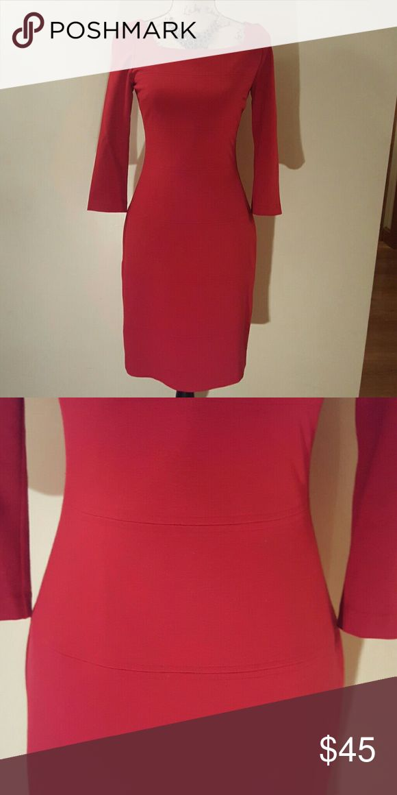 *offers welcomed* White House Black Market Dress Elegant red dress Excellent condition White House Black Market Dresses