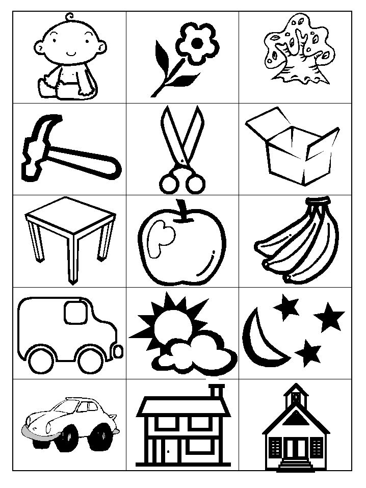 Noun cards. Also comes in color and different cards kids