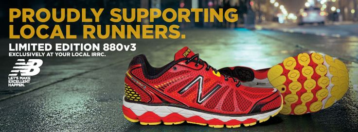 New color for the New Balance 880. Can be found ONLY in specialty store such as The Runners' Den