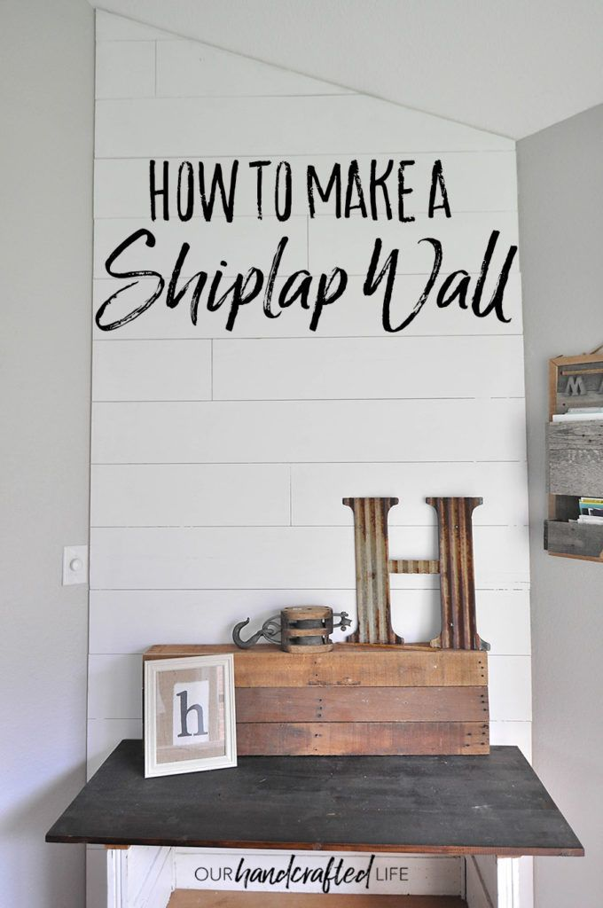 how to make plywood look like lining boards