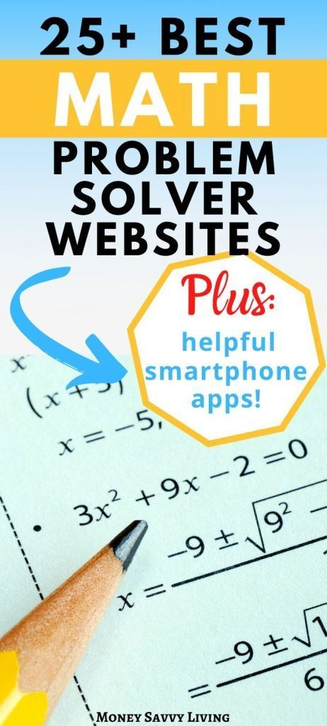 25+ Best Math Problem Solver Websites and Smartphone Apps