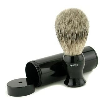 Travel Brush Finest With Canister - Black - 1pc