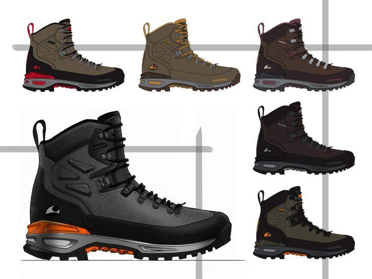 Viking Footwear Gaupe Leather - by Ghost Works industrial design consultancy