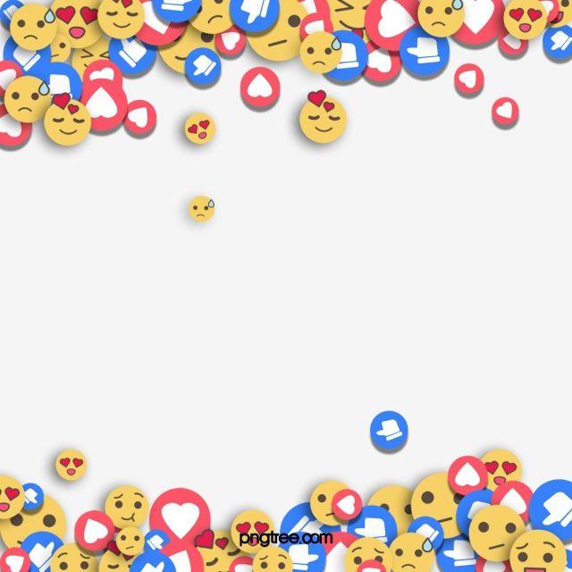 Hand Painted Like Emoji Expression Border Design Make Up Creative Yellow Png Transparent Clipart Image And Psd File For Free Download Like Emoji Border Design Emoji