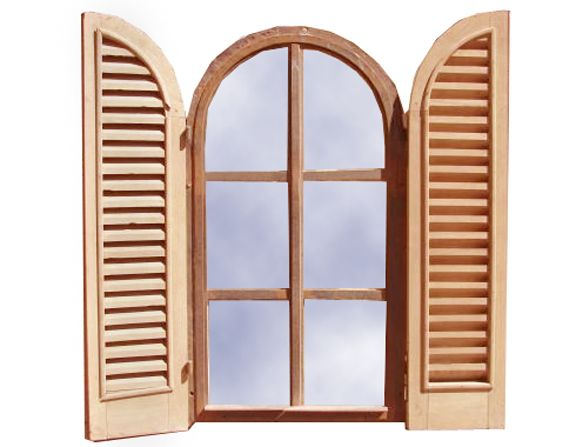 Designer door window custom wood corners wood rounds for Custom design windows
