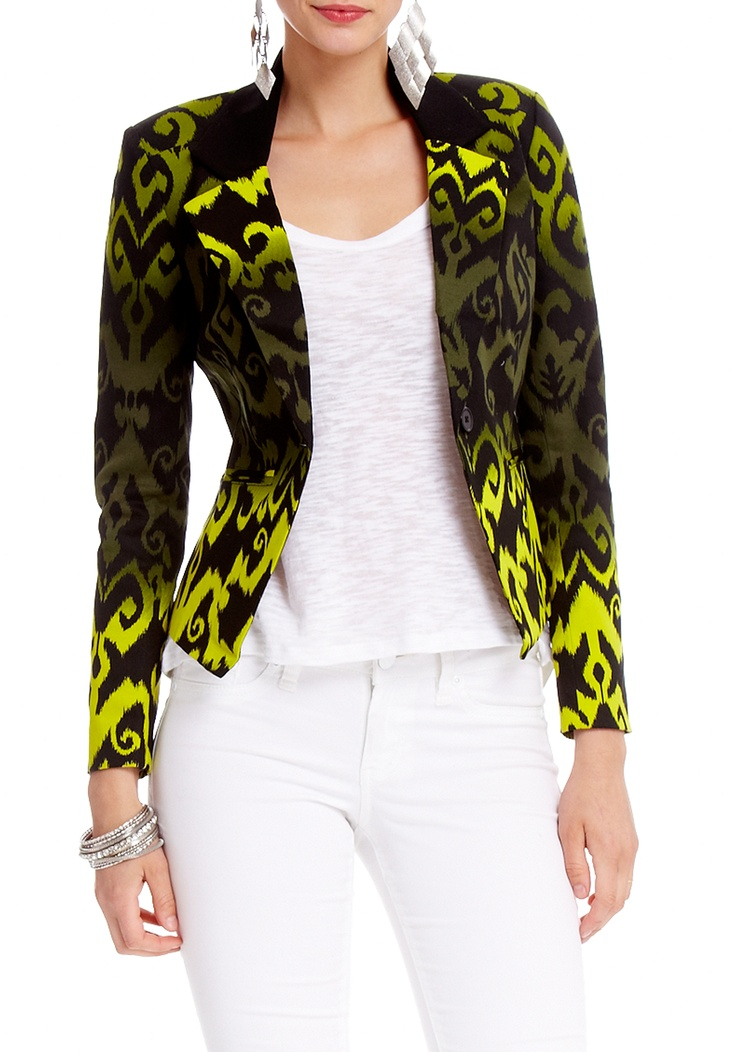 2b | Modern Ikat Blazer - View All - wow! This one is out there!