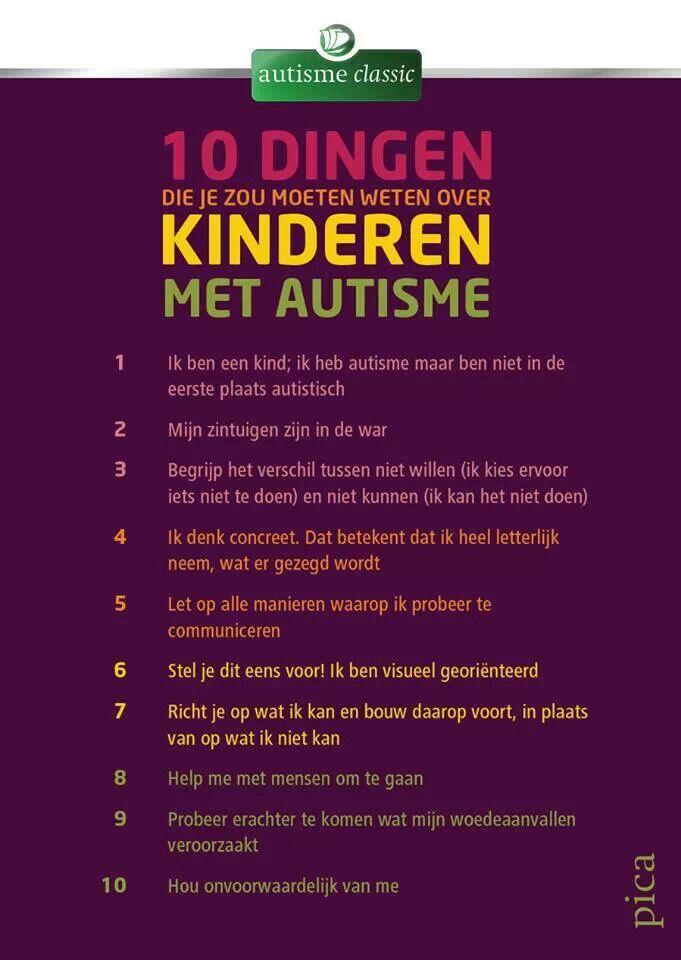 Dit is wat een kind met autisme nodig heeft.