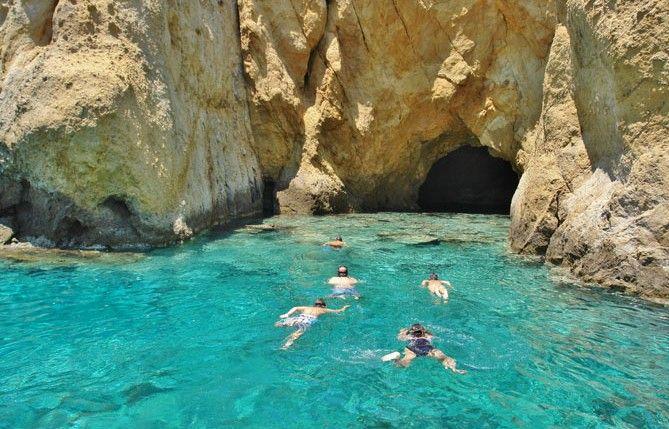 Kimolos Island – Gerakia Sea Cave