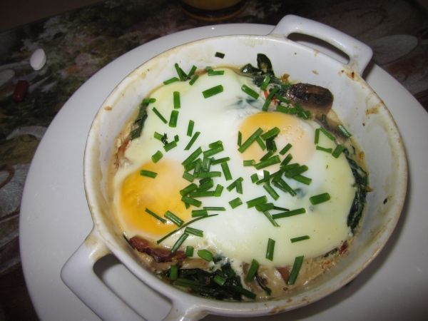 Baked egg Dukan Diet Recipe